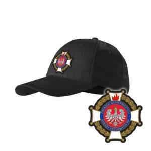 Czapka strażacka z daszkiem WZ02 Krzyż Związkowy PLT