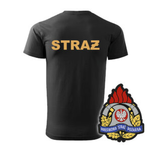 Koszulka Straż Pożarna WZÓR 05 – Państwowa Straż Pożarna PLT