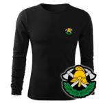 Koszulka strażacka długi rękaw WZ03 Toporki i Hełm PLT