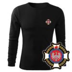 Koszulka strażacka długi rękaw WZ02 Krzyż Związkowy PLT