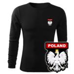Koszulka strażacka długi rękaw WZ06 Orzeł Polska PLT