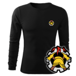 Koszulka strażacka długi rękaw WZ09 WOP PLT