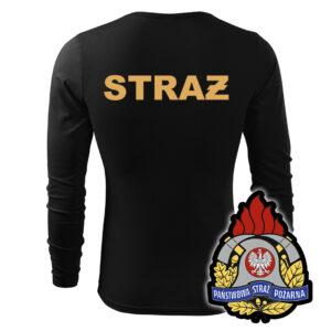 Koszulka strażacka długi rękaw WZ05 PSP PLT