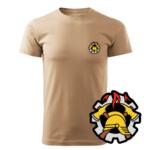 Piaskowa koszulka strażacka WZ09 WOP
