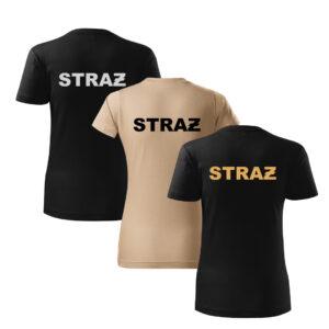 Koszulki t-shirt służbowe DRUK