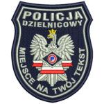 Naszywka Policja Prewencja Dzielnicowy IND B2A