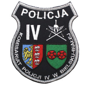 Bielsko-Biala – Naszywka Policja Komenda Policji IV w Bielsku-Białej NPO1100 IND
