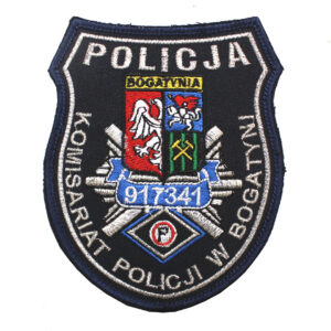 Bogatynia – Naszywka Policja Komisariat Policji w Bogatyni NPO1108 IND