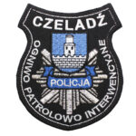 Czeladź – Naszywka Policja Ogniwo Patrolowo Interwencyjne Czeladź NPO1120 IND
