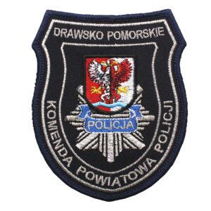 Drawsko Pomorskie – Naszywka Policja Komenda Powiatowa Policji NPO1104 IND