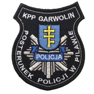 Garwolin – Naszywka KPP Garwolin Posterunek Policji w Pilawie NPO1027 IND