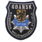 Gdańsk – Naszywka Policja Komenda Wojewódzka Policji w Gdańsku NPO1112 IND