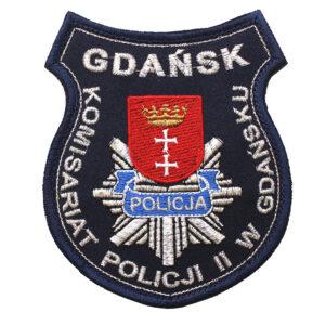 Gdańsk – Naszywka Policja Komisariat Policji II w Gdańsku NPO1125 IND