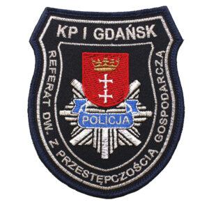 Gdańsk – Naszywka Policja Referat DW. Z Przestępczością Gospodarczą KP I Gdańsk NPO1124 IND