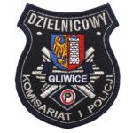 Gliwice – Naszywka Policja Dzielnicowy Komisariat I Policji Gliwice NPO1102 IND