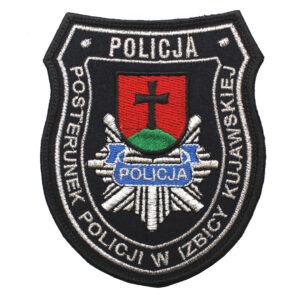 Izbica Kujawska – Naszywka Policja Posterunek Policji w Izbicy Kujawskiej NPO1103 IND