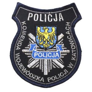 Katowice – Naszywka Policja Komenda Wojewódzka Policji w Katowicach NPO1110 IND