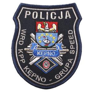 Kępno – Naszywka Policja WRD KPP Kępno – Grupa Speed NPO1071 IND