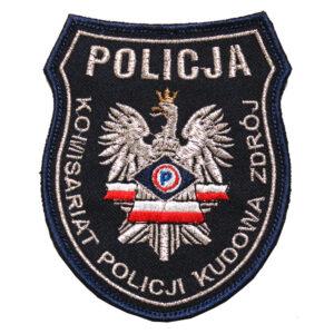 Kudowa Zdrój – Naszywka Policja – Komisariat Policji Kudowa Zdrój NPO1086 IND