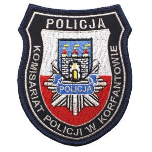 Korfantów – Naszywka Policja – Komisariat Policji w Korfantowie NPO1079 IND