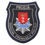 Gdańsk – naszywka policja Oddział Prewencji Policji – Gdańsk NPO1042 IND