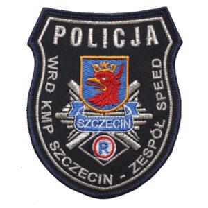 Szczecin – Naszywka Policja – WRD KMP Szczecin – Zespół Speed NPO1084 IND