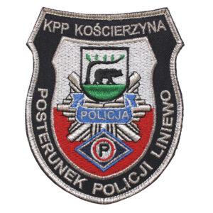 Kościerzyna – Naszywka Policja – KPP Kościerzyna Posterunek Policji Liniewo NPO1085 IND