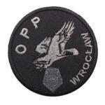 Wrocław – naszywka policja Oddział Prewencji Policji we Wrocławiu OPP Wrocław 2 NPO1043 IND
