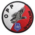 Wrocław – naszywka policja Oddział Prewencji Policji we Wrocławiu OPP Wrocław NPO1044 IND