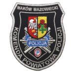 Maków Mazowiecki – Naszywka Policja Komenda Powiatowa Policji NPO 1105 IND