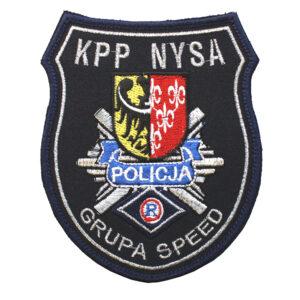 NYSA – Naszywka Policja – Grupa Speed KPP NYSA NPO1076 IND
