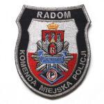Radom – Naszywka Policja Komenda Miejska Policji Radom NPO1021 IND