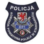 Stargard – Naszywka Policja Komenda Powiatowa w Stargardzie NPO1026 IND