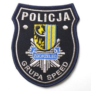 Zgorzelec – Naszywka Policja Grupa Speed Zgorzelec NPO1023 IND
