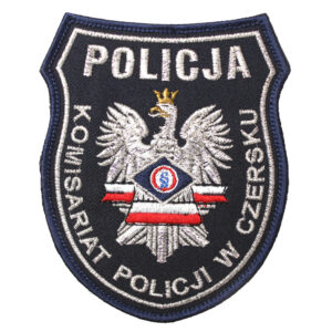 Czersk – Naszywka Policja Komenda Policji w Czersku NPO1022 IND