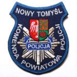 Nowy Tomyśl – Naszywka Policja Komenda Powiatowa Policji Nowy Tomyśl NPO1015 IND