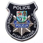 Police – Naszywka Policja Komenda Powiatowa Policji Police NPO1009 IND