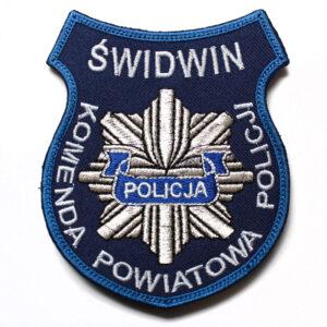 Świdwin – Naszywka Policja Komenda Powiatowa Policji Świdwin NPO1020 IND