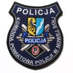 Nowa Sól – Naszywka Policja Komenda Powiatowa Policji w Nowej Soli NPO1006 IND