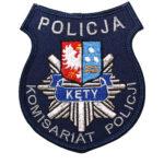 Kęty – Naszywka Policja Komisariat Policji Kęty NPO1012 IND