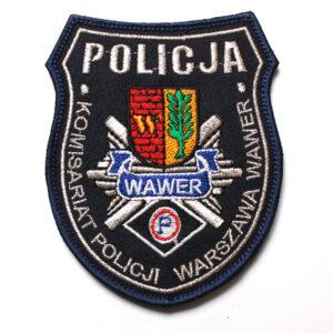 Warszawa – Naszywka Policja Komisariat Policji Warszawa Wawer NPO1007 IND