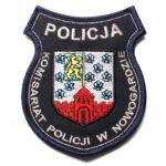 Nowogard – Naszywka Policja Komisariat Policji w Nowogardzie NPO1016 IND