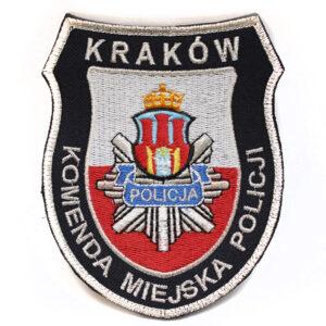 Kraków – Naszywka Policja Kraków Komenda Miejska Policji NPO1059 IND