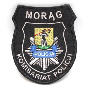 Morąg – Naszywka Policja Morąg Komisariat Policji NPO1058 IND