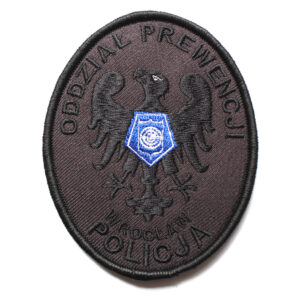 Wrocław – Naszywka Policja Oddział Prewencji Wrocław NPO1003 IND