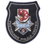 Cedynia – Naszywka policja posterunek policji w Cedyni NPO1048 IND