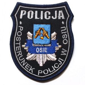 Osie – Naszywka Policja Posterunek Policji w Osiu NPO1019 IND