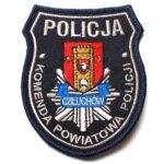 Człuchów – Naszywka Policja Komenda Powiatowa Policji Człuchów NPO1008 IND