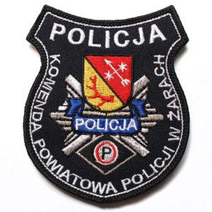 Żary – Naszywka Policja Komenda Powiatowa Policji w Żarach NPO1017 IND