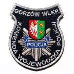 Gorzów Wlkp. – Naszywka Policja Komenda Główna Policji Gorzów Wlkp. NPO1004 IND